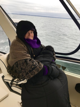 Cold Day on Long Island Sound