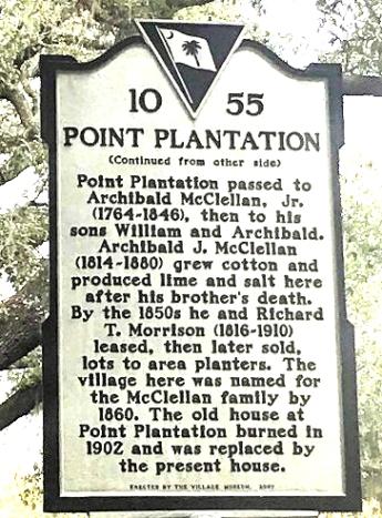 Mclealand plantation sign1