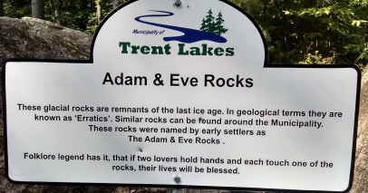 Adam and Eves sign