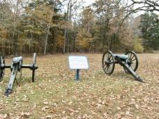 Shiloh Battlefield Cannons