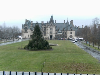 Biltmore Estate from Front Lawn
