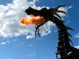 Fire Breathing Dragon