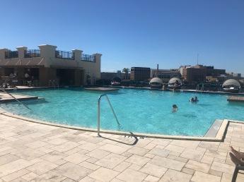 Tampa Marriott-rooftop pool