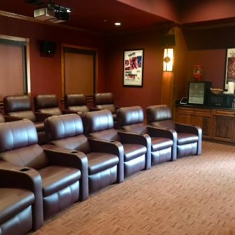 Everglades Isle Marina Movie Theater