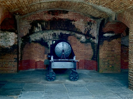 Armaments-Fort Zachary Taylor