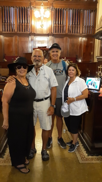 Cathedral Basilica of St Augustine with the Sullivans