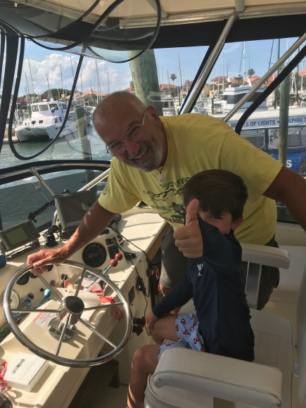 Jax at the helm